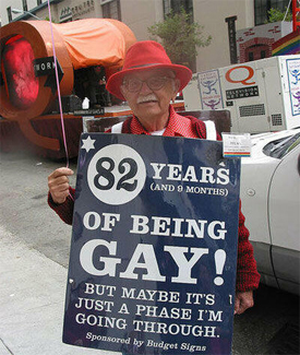82 Years Old and Still Gay