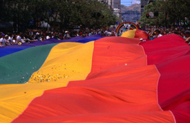 Huge Rainbow Flag